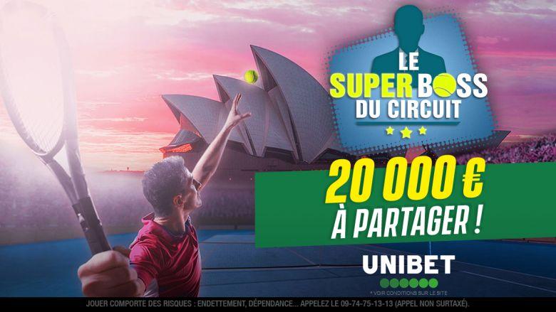 Open d'Australie - Pour jouer au Super Boss du circuit, dernier jour !
