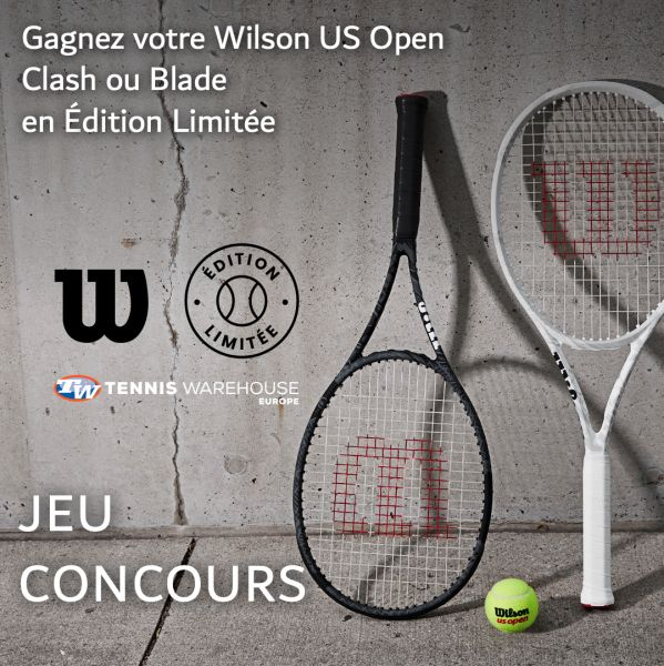 Jeu Concours - Vous avez jusqu'à 17h pour gagner la 'Wilson US Open'