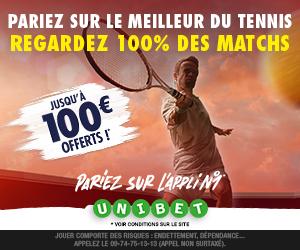 Média - En direct et en vidéo tous les matches de tennis