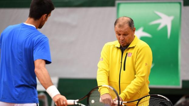 ATP - Vajda : 'Novak Djokovic s'entraîne toujours autant'