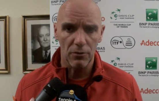 Coupe Davis - Van Herck : 'Bien sûr qu'on a des regrets'