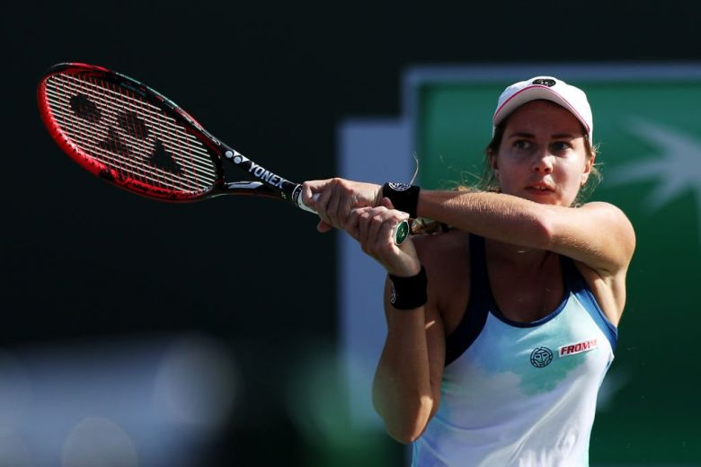WTA - Linz - Stefanie Voegele est enfin sortie de sa série noire