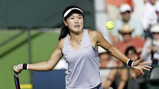 Roland-Garros (Q) - Xiyu Wang a encore du travail... !