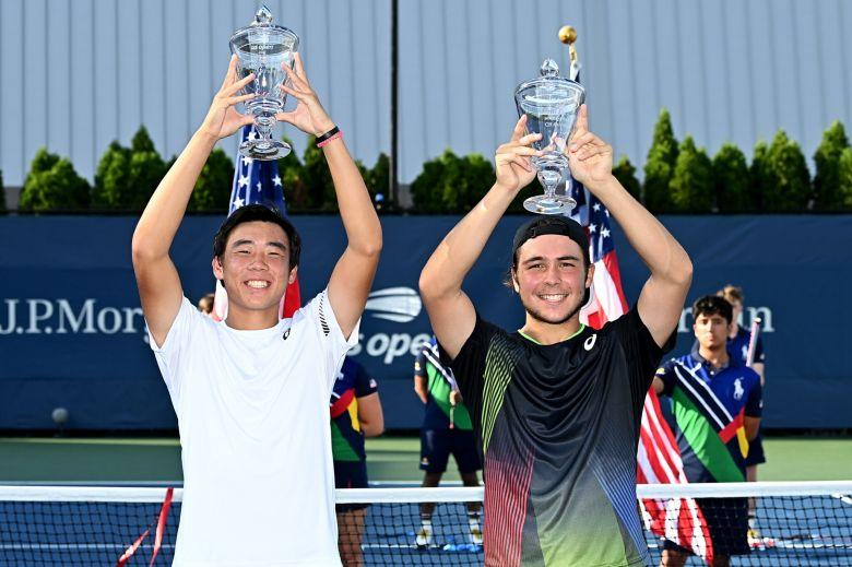 US Open (J) - Le junior français Max Westphal sacré en double