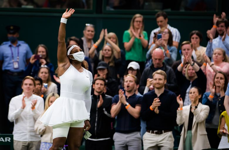 Wimbledon - Serena Williams sur son abandon : 'J'ai eu le coeur brisé'