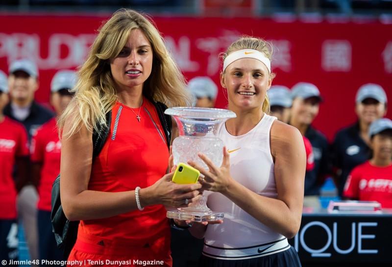 WTA - Yastremska a dédié son titre à sa maman, blessée à l'oeil