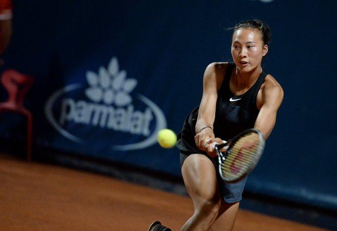 WTA - Palerme - Zheng Qinwen écarte Samsonova, Océane Dodin facile