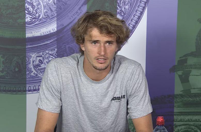 Wimbledon - Alexander Zverev battu et agacé : 'Je dois mieux jouer...'